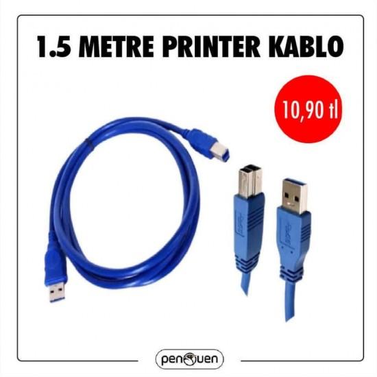 1.5 METRE PRİNTER KABLO