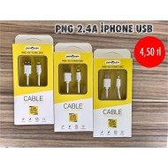 PNG 2.4A İPHONE USB
