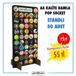AA KALİTE DAMLA POP SOCKET 50 ADET
