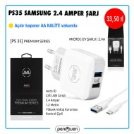 PS35 SAMSUNG 2.4 AMPER ŞARJ