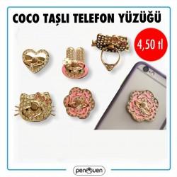 COCO TAŞLI TELEFON YÜZÜĞÜ