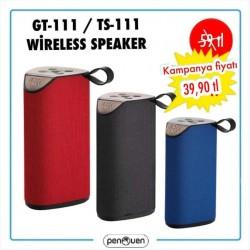 GT-111 TS-111 WİRELESS SPEAKER