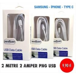 2 METRE 2 AMPER PNG USB
