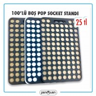100'LÜ BOŞ POP SOCKET STANDI