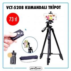 VCT-5208 KUMANDALI TRİPOT