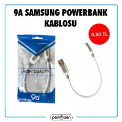 9A SAMSUNG POWERBANK KABLOSU