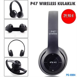 P47 WİRELESS KULAKLIK
