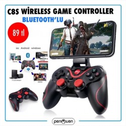 C8S WİRELESS GAME CONTROLLER