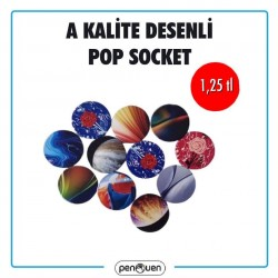 A KALİTE DESENLİ POP SOCKET
