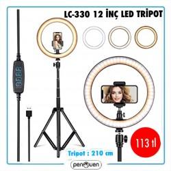LC-330 12 İNÇ LED TRİPOT