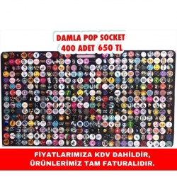 DAMLA POP SOCKET 400 ADET 600 TL