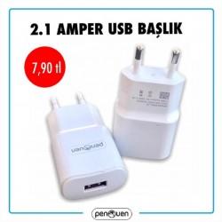 2.1 AMPER USB BAŞLIK