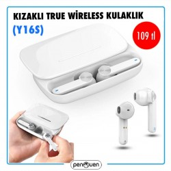 KIZAKLI TRUE WİRELESS KULAKLIK