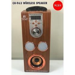 CH-963 WİRELESS SPEAKER