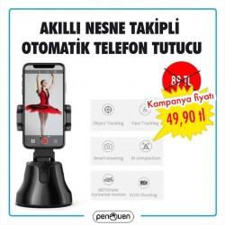 AKILLI NESNE TAKİPLİ OTOMATİK TELEFON TUTUCU