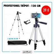 PROFESYONEL TRİPOT -120 CM