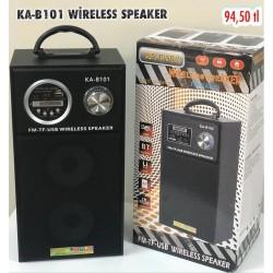 KA-B101 WİRELESS SPEAKER