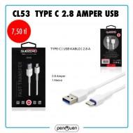 CL53 TYPE C 2.8 AMPER USB
