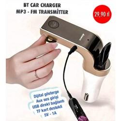 BT CAR CHARGER MP3 FM TRANSMİTTER
