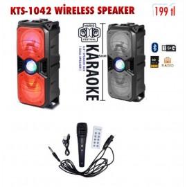 KTS-1042 WİRELESS SPEAKER