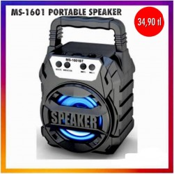 MS-1601 PORTABLE SPEAKER