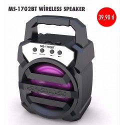 MS-1702BT WİRELESS SPEAKER