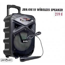 JBK-0810 WİRELESS SPEAKER