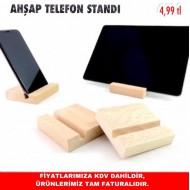AHŞAP TELEFON STANDI