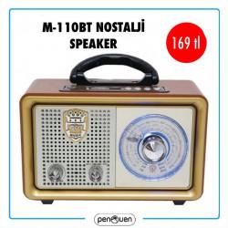 M-110BT NOSTALJİ SPEAKER