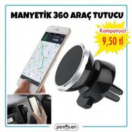 MANYETİK 360 ARAÇ TUTUCU