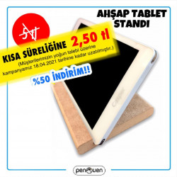 AHŞAP TABLET STANDI