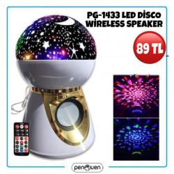 PG-1433 LED DİSCO WİRELESS SPEAKER