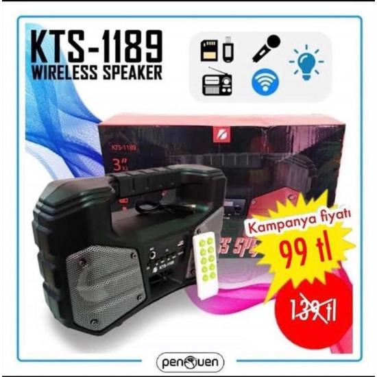 KTS-1189 WİRELESS SPEAKER