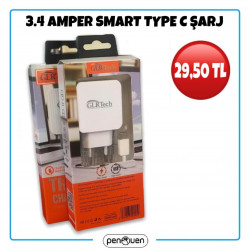 3.4 AMPER SMART TYPE C ŞARJ