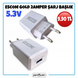 ESCOM GOLD 2 AMPER ŞARJ BAŞLIK