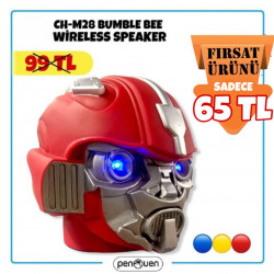 CH-M28 BUMBLE BEE WİRELESS SPEAKER