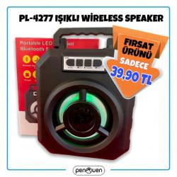 PL-4277 WİRELESS SPEAKER