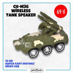 CH-M36 WİRELESS TANK SPEAKER