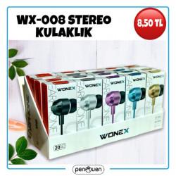 WX-008 STEREO KULAKLIK