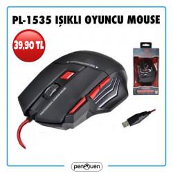PL-1535 IŞIKLI OYUNCU MOUSE