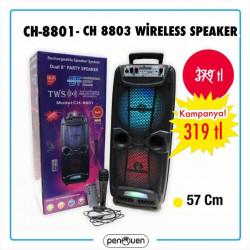 CH-8801 CH-803 WİRELESS SPEAKER