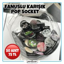 FANUSLU KARIŞIK POP SOCKET