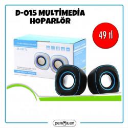 D-015 MULTİMEDİA HOPARLÖR