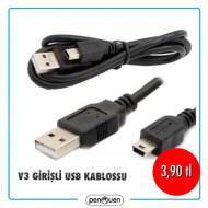 V3 GİRİŞLİ USB KABLOSU