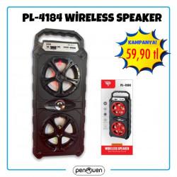 PL-4184 WİRELESS SPEAKER