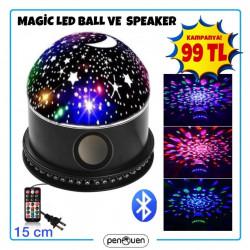 MAGİC LED BALL VE SPEAKER