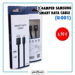 U-001 2.4 AMPER SAMSUNG SMART DATA CABLE