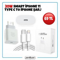 20W SMART İPHONE 11 TYPE C TO İPHONE ŞARJ