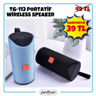 TG-113 PORTATİF WİRELESS SPEAKER