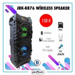 JBK 8876 WİRELESS SPEAKER